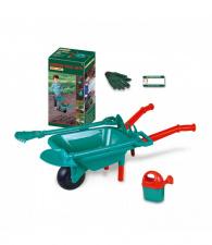 Žaislinis sodo rinkinys su karučiu