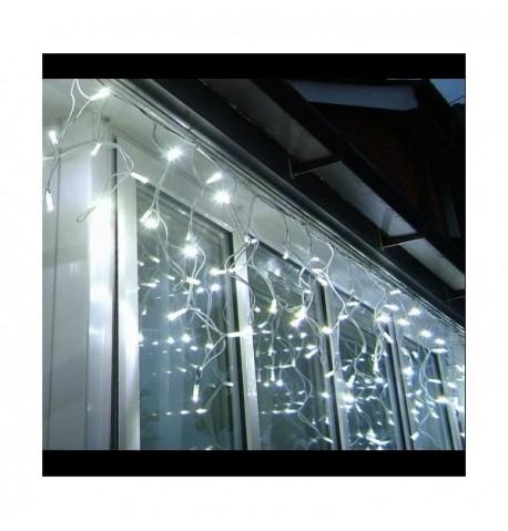 LED GIRLIANDA VARVEKLIAI - 500 LED 18m. (BALTA)
