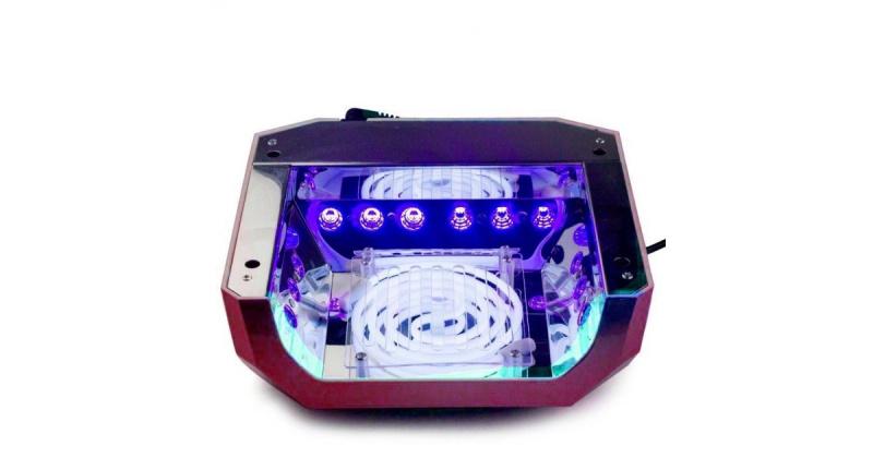 UV-LED 36W (CCFL+LED) HIBRIDINĖ NAGŲ LAKAVIMO LEMPA DIAMOND