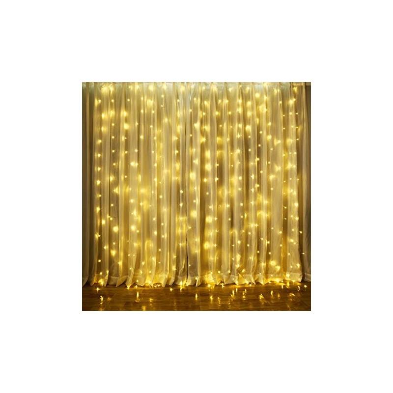LED LEMPUČIŲ UŽUOLAIDA 3 X 3 M